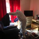 Covid Cleaning to Drug House